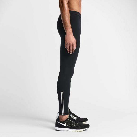 a00beb6e8975 Nike Pants | Mens Running Tights 620110 Black M | Poshmark
